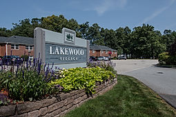 Lakewood Village Apartments Front Sign - Click to view Lakewood's Home Page