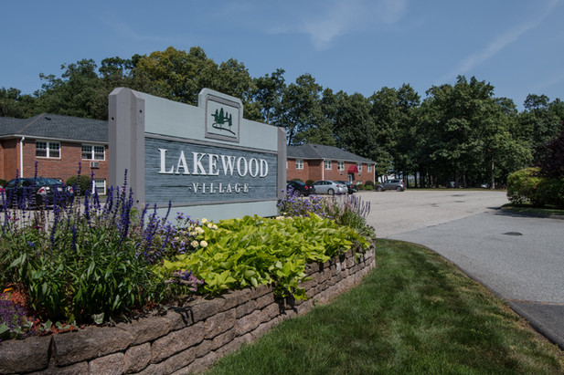 Lakewood Village Apartments Front Sign