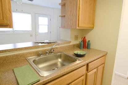 Lakewood Village Apartments Townhouse Kitchen