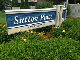 Sutton Place Apartments Front Sign