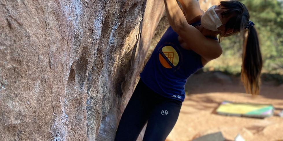 She Sends: Outdoor Climbing Movement + Technique