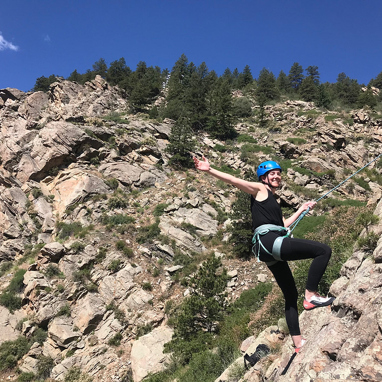 Intro To Lead Climbing Outdoors