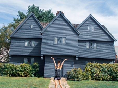 Part 1 America: get'n bewitched in Salem
