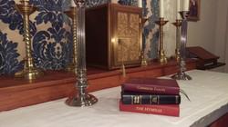 Prayerbook and Aumbry