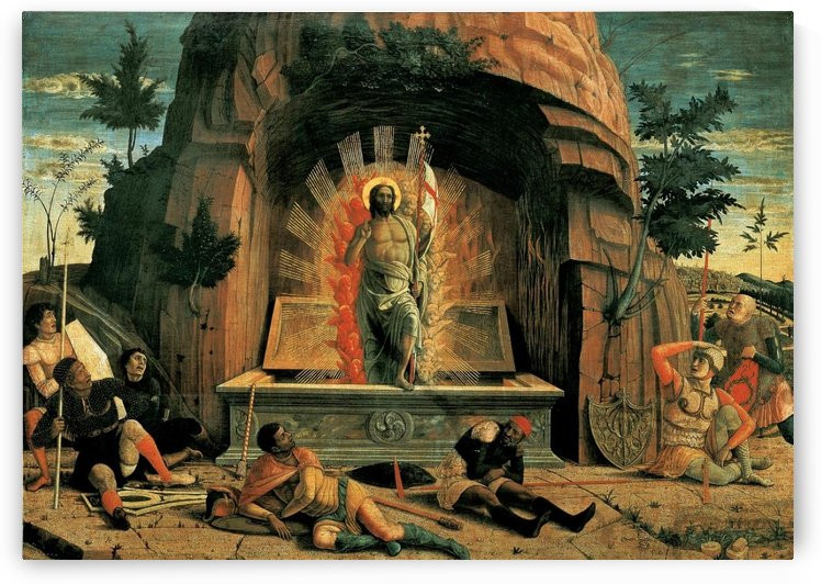 Resurrection - Andrea Mantegna