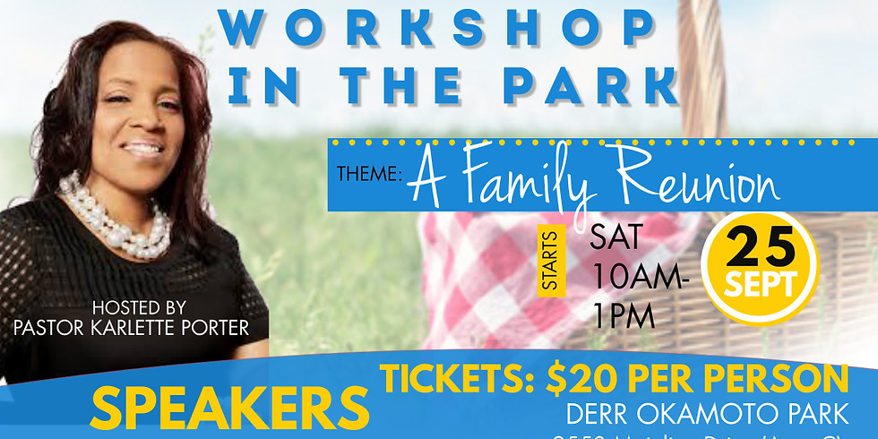 W.O.W WORKSHOP IN THE PARK 2 - A Family Reunion