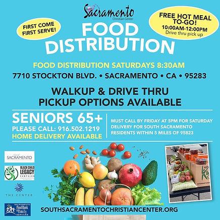 South Sacramento Christian Center Food D