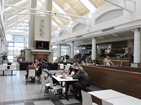 Food court post renovation, 2015