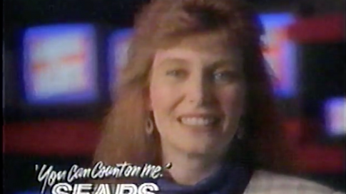 Sears Brand Central commercial, 1992
