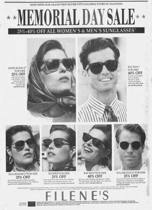 Filene's ad