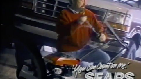 Bob Vila for Sears commercial, 1992