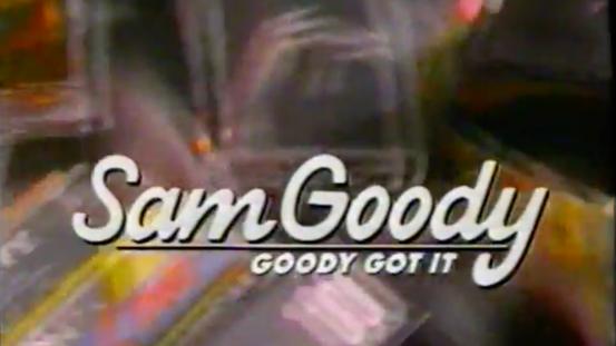 Sam Goody commercial, 1990