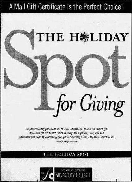 The Holiday Spot for Giving