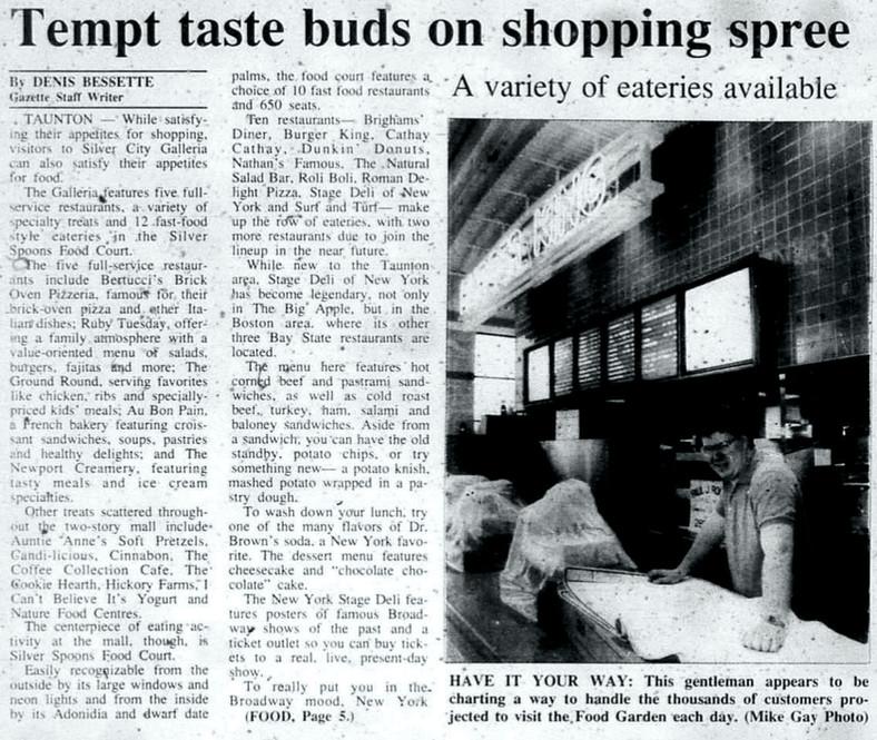 Tempt taste buds on shopping spree (part 1)