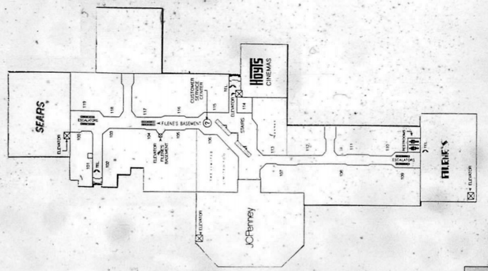 Map 1992 First Floor