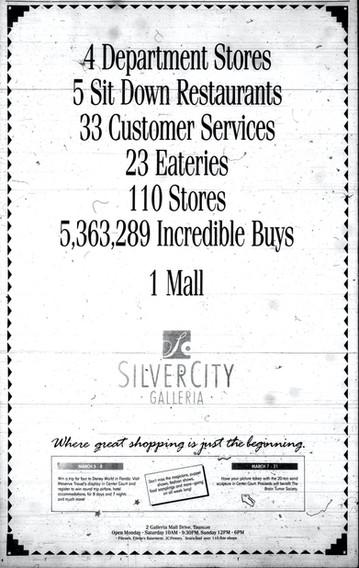 Silver City Galleria ad