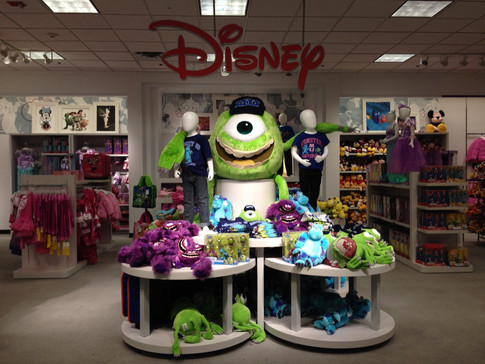 JCPenney Disney section, 2014