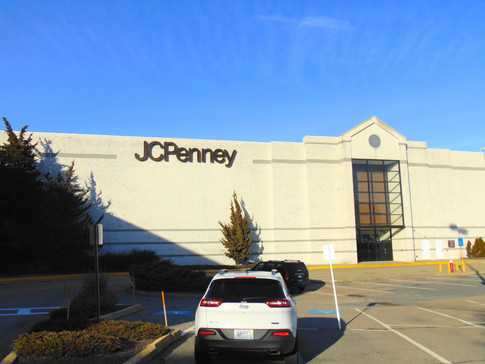 Former JCPenney exterior, 2018