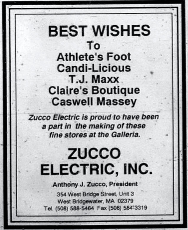 Best Wishes from Zucco Electric
