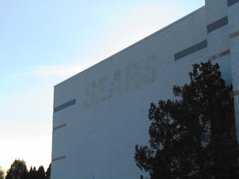 Former Sears exterior, 2018