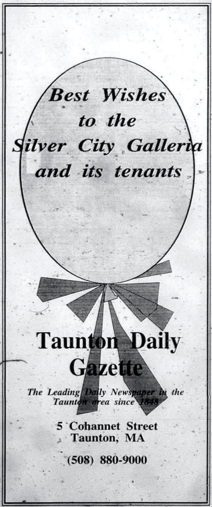 Best wishes from the Taunton Daily Gazette