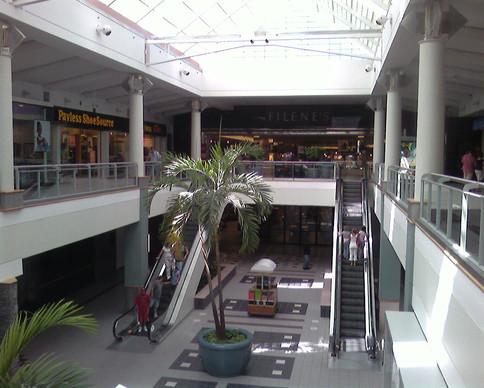 Interior entrance to Filene's, 2006
