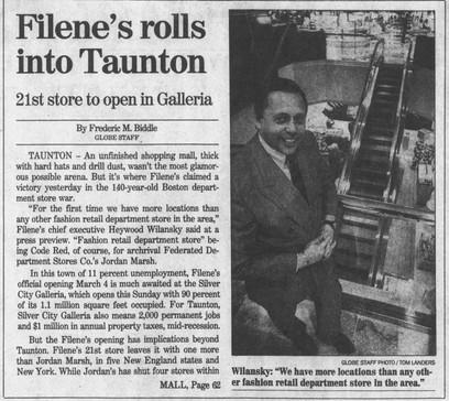 Filene's rolls into Taunton (part 1)