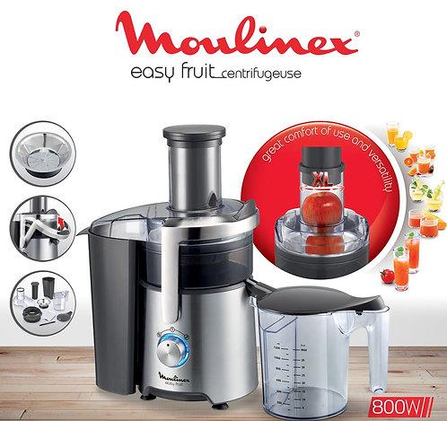 Moulinex Centrifugeuse Easy Fruit Appareil Extracteur de Jus Fruits ou Légumes