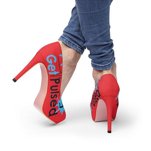 Red Women's Platform Heels
