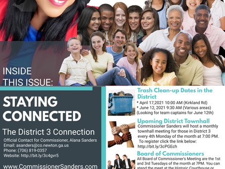District 3 CommUNITY News, March 2021