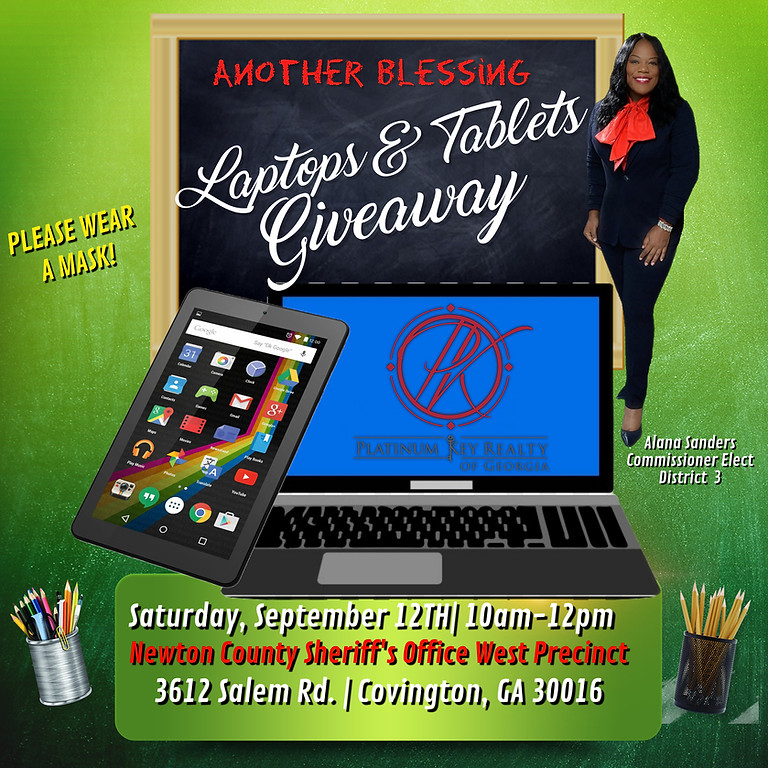 Laptop and Tablet Giveaway