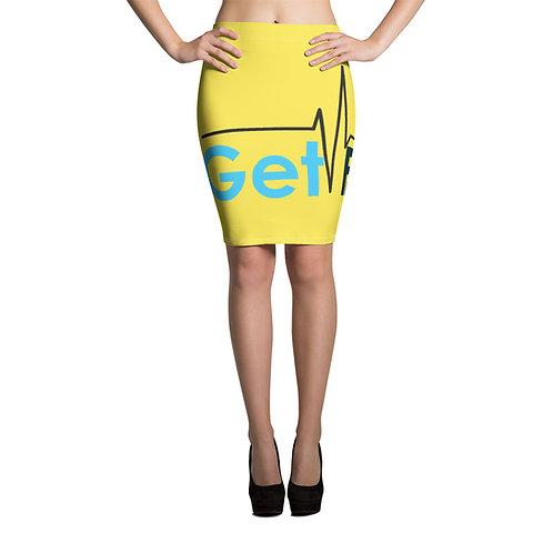 Pencil Skirt (yellow)