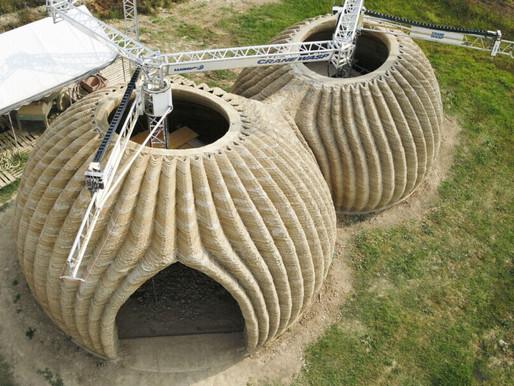 Dalla terra nasce una casa stampata in 3D, l'innovazione targata Wasp