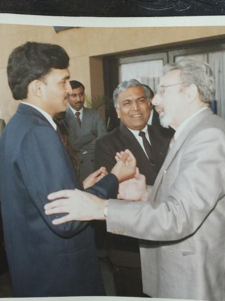 CEO with H.E. The Ambassador,Embassy of Czech Republic,Delhi