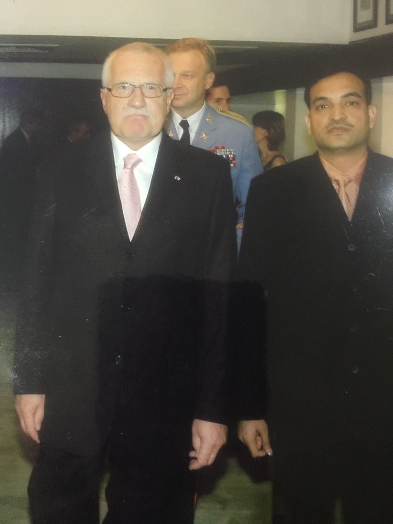 CEO with President of Czech Republic