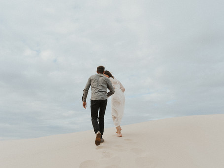 Florence, Oregon Sand Dunes - Couples Session- Hannah and Cahl