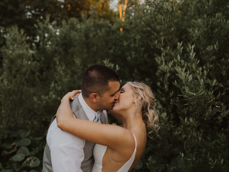 Black Diamond Gardens Wedding - Miranda and Evan