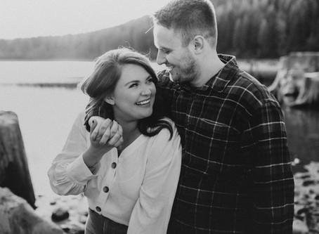 Rattlesnake Lake Couples Session - Ashley and Cole