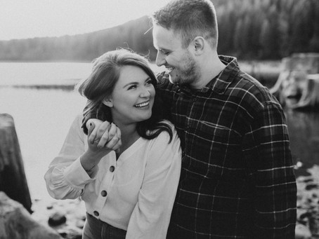 Rattlesnake Lake Couples Session - Ashley and Cole