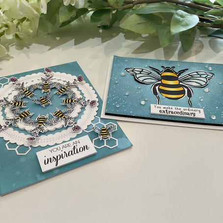 It's All About Bees featuring JoyClair Designs' EXTRAORDINARY