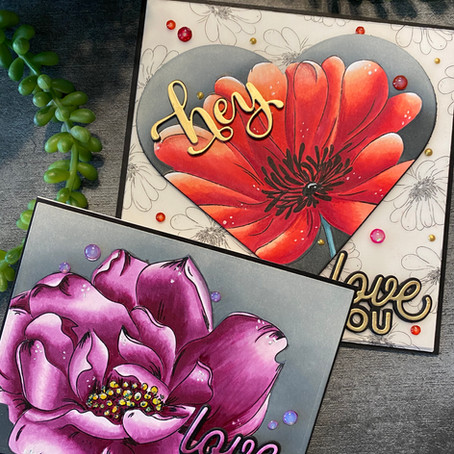 Spring Flowers featuring Alex Syberia Designs
