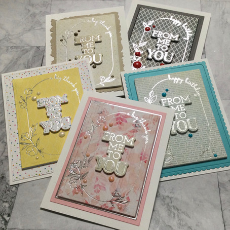 Glimmer Hot Foil System Basics with Spellbinders Mix & Match