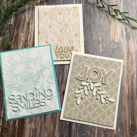 Simple Techniques to Enhance Embossing Folder Designs