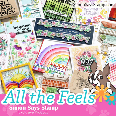Tone on Tone with Simon Says Stamp's XL Greetings 2