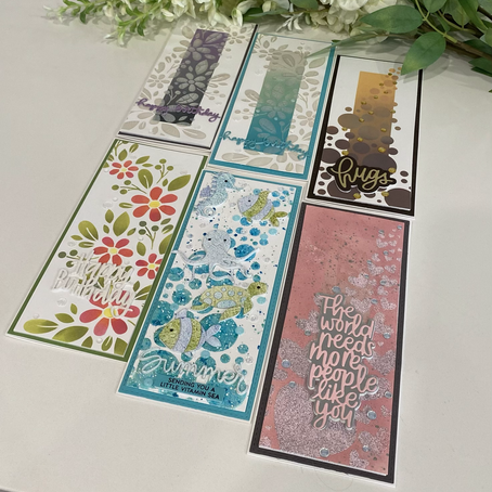 Techniques to Extend the Use of your Stencils featuring Simon Says Stamp's Fading Stencils