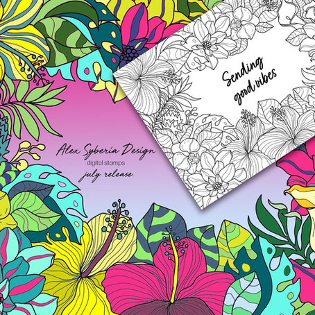 Tropical Delights featuring Alex Syberia's July Release