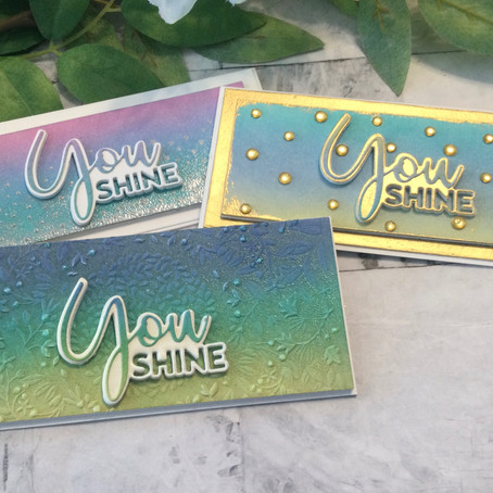 You Shine with Simon Says Stamp's Born to Sparkle Release