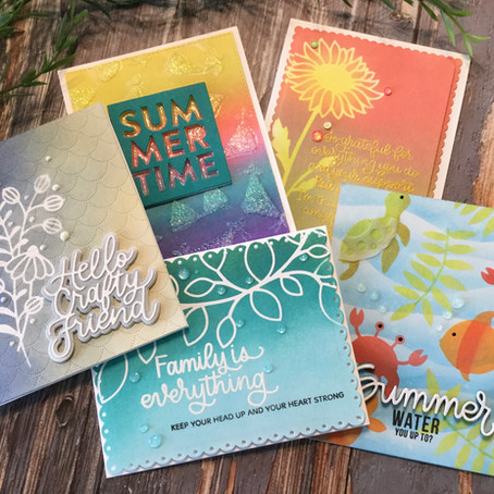 Creating Stencils with Simon Says Stamp's Wafer Dies