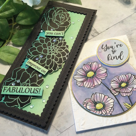 Floral Digital Stamps with Joy Clair Designs