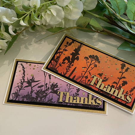 Quick and Easy Mini Slimlines …. featuring Simon Says Stamp's Wildflowers